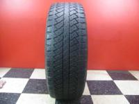 Set of 4 BRIDGESTONE DUELER A/T USED TIRES These tires