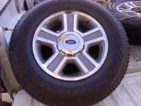 P235/75R17, $400 for all four Tires/Rims - FIRM, Danny