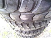 Set of 4 Nice All Terrain Mudding Tires Kumho Road