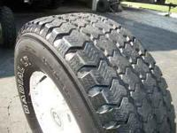 I have a set of 4 wheels and tires for sale. They are