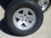 I am offering a good set of 4 Firestone Destination A/T