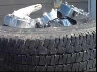 I have a set of 4 tires out of my F250' almost new they