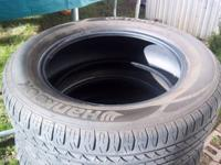 I am selling a complete set of tires. Hankook Optimo
