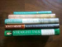 I need a reasonable offer for this lot of 5 Joyce Meyer