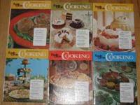 We have 6 books from the Family Circle Illustrated