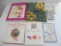 For Sale: 7 great publications on flowers. All