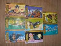 a set of + ANIMA manga, Volumes 1,2,3,4,5,6,7,8 by