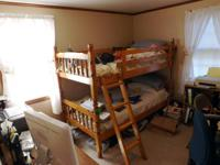 A set of bunk beds, like new   125.00 cash