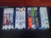 Set of Exercise VHS Tapes. TaeBo, Pilates and The Firm.