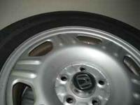 Honda wheels & tires. PRICE IF FOR ALL FOUR!!! Rims are