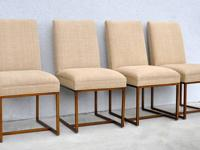 Beautiful set of four (4) custom Gage tall dining