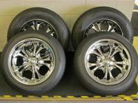 "UP FOR SALE IS A SET OF BOSS MOTORSPORT 18"" WHEELS AND"