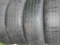 selling four used tires from a 2007 jeep grand cherokee