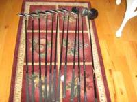 i have a set of golf clubs for sale : (new) king corba