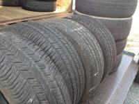 I have a set of tires 235-50-18 with a little more then