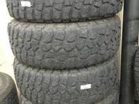 I have a set of four used 18 inch ( LT285/70R17 ,
