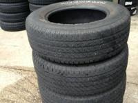 I have QUITE GREAT used 17 inch 25565R17 (P255/65R17,