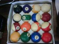NICE POOL BALLS ONLY $20 COME TO OUR STORE LOCATED AT