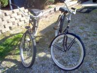 "Ross Man and women bicycles 26"" verry good shape.$200"