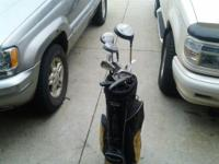 Used set of clubs Elite avantage and bag  // //]]>