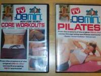 For sale are two of the 8 minute workout DVDs as seen