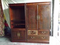 Set of two Antique Chippendale by Drexel TV/Computer