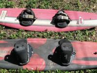 Two Buzz and X2 Wakeboards ** Red. Buzz Wakeboard