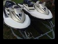 Seadoo 2004 GTX jetskihas a new radio with Bluetooth or