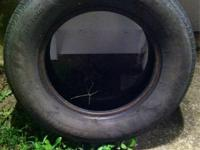 I have two good used tires for sale 205/70/R15. Please