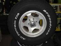 Set of 4 BF Goodrich All-Terrain T/A Tires with 16""