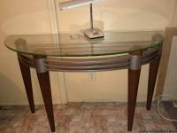 Set of 4 living room tables by Ashley. Sofa table,