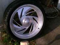 I have 5 all matching 20 inch rims. I believe one is