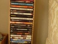 DVDs, assorted. Approx 25 movies. Recent box office