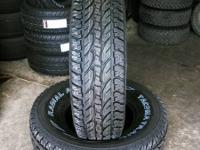 I have 4 of the 16 inch 26570R16 (P265/70R16, 2657016)