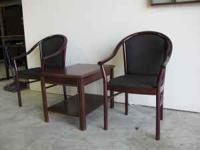 These are beautiful chairs and i can only sell the 2