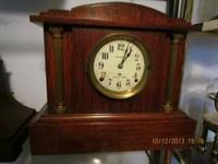 Seth Thomas 4 Bell Sonora Chime Keywind Mantle Clock