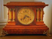 This beautiful clock was made by the Seth Thomas Clock