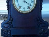 This is a Seth Thomas Mantle Clock that seems in