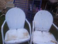 If you are in the market for chairs I have three sets