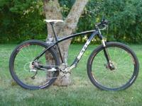 Sette Razzo carbon framed 29er mountain bike, size 19""