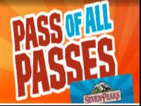 2 Seven Peaks Pass of all Passes. Good for a year.