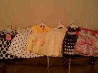 Many beautiful infant/little girl dresses from