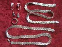 I am selling several sterling silver jewelry pieces. I