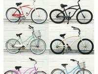 Mens & Womens Used Beach Cruiser's for sale! Basic