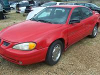 1999 PONTIAC GRAND AM--NEEDS ENGINE WORK $1000 1997