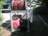 Gas Engine 2 Cyl Electric Start .100 Gallon Water Tank