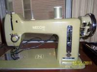 Sewing machine made in Italy by Necchi. Sewing machine