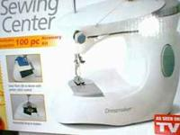 hi i have a dressmaker sewing machine with box, power