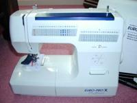 EURO-PRO 84 STITCH SEW MACHINE MODEL 8135H IT IS NEW