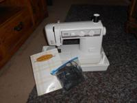 I have a Brother VX-1120 sewing machine that comes with